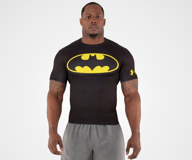 UNDER ARMOUR: BATMAN ALTER EGO FITTED SHIRTS