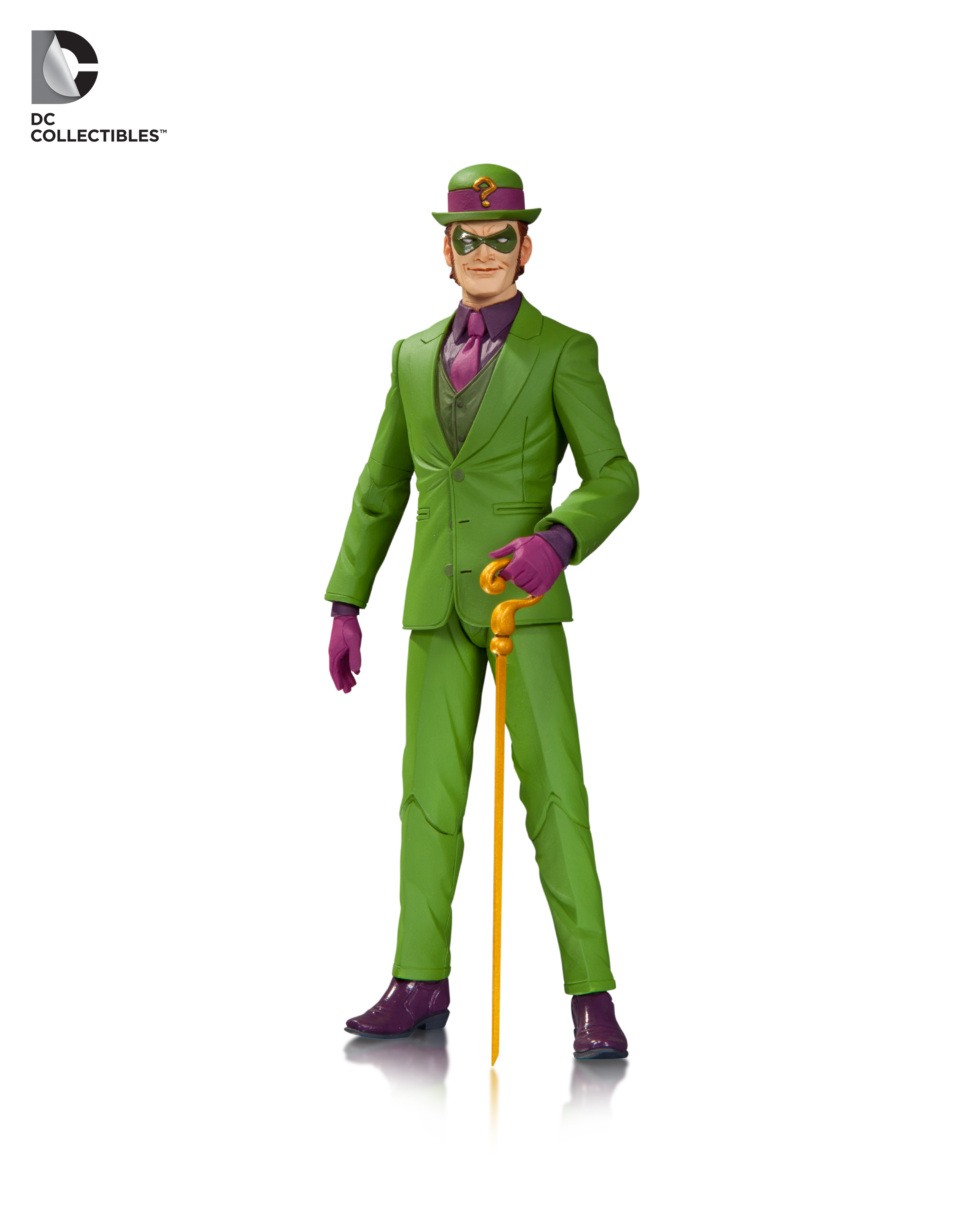 The Riddler has taken the spotlight as of late in Batman, and he's dressed for the part.