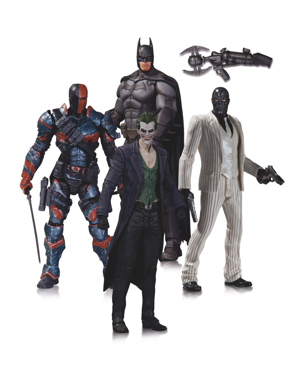 Arkham Origins 4-pack