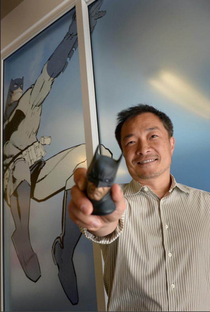 Jim Lee presents 'The Batman'