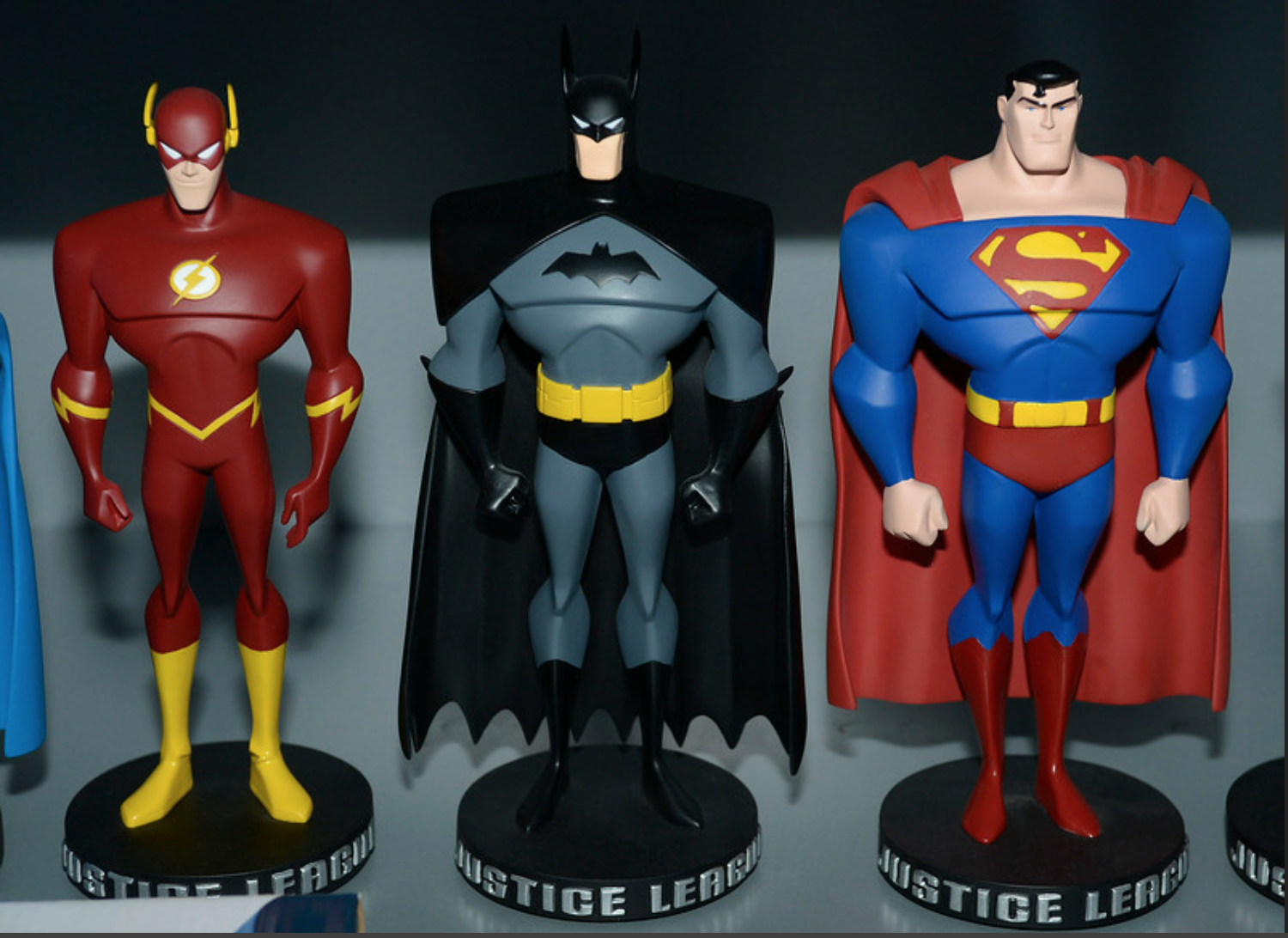 Justice League in Jim Lee's office