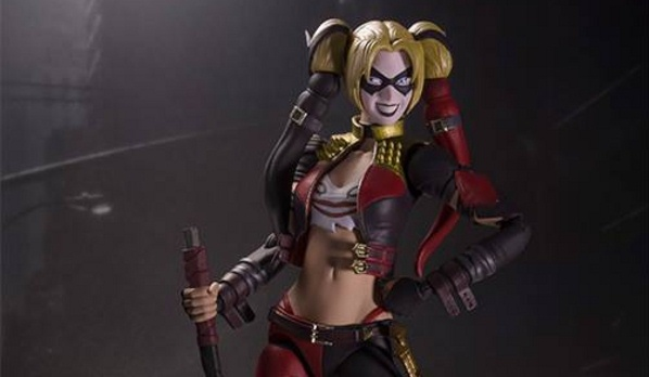 For Fans That Cant Get Enough Of The Popular Game Injustice Gods Among Us Comes An Video Harley Quinn Figure From Tamashii Nations