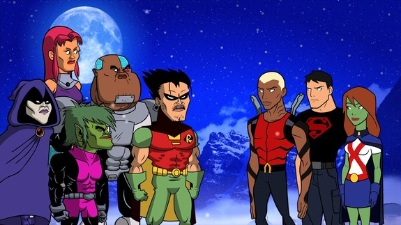 The Teen Titans get Serious