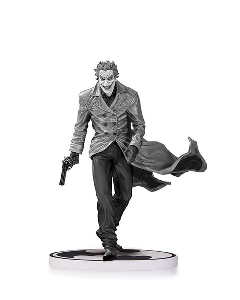 BATMAN: BLACK AND WHITE THE JOKER BY LEE BERMEJO SECOND EDITION STATUE