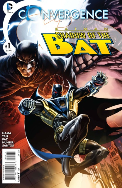 Front cover to Convergence: Shadow of the Bat.