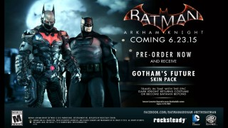 New Batman Skins in Arkham Knight