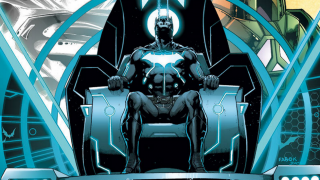 "Batman undergoes a transformation in ""The Darkseid War"""