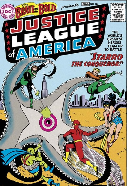 JUSTICE LEAGUE OF AMERICA: THE SILVER AGE VOL. 1 TP