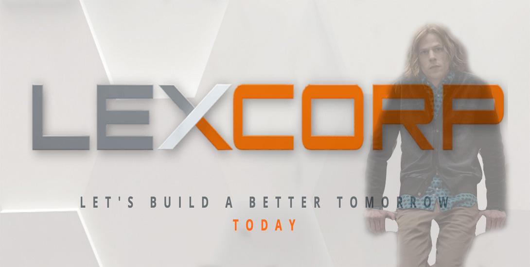 lexcorp dark knight news viral campign
