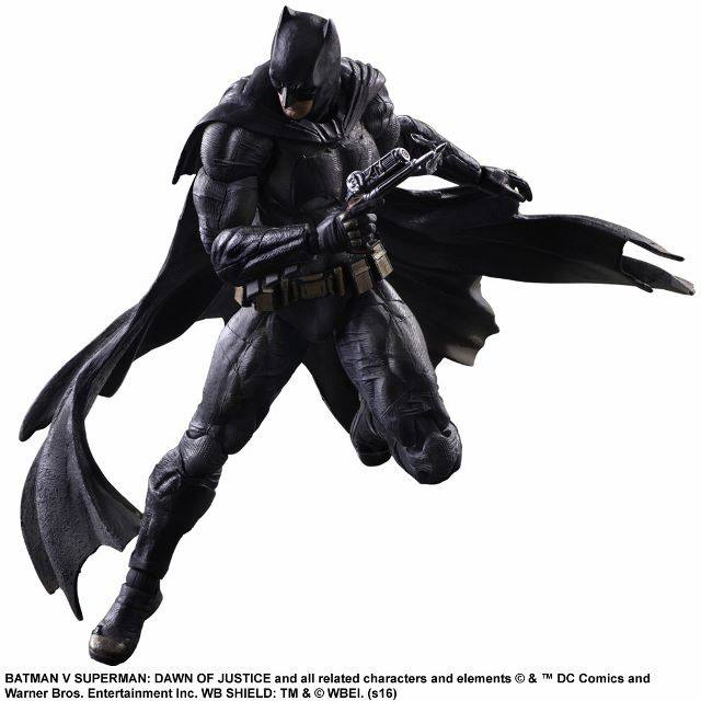 Batman Figure with Grappling Hook