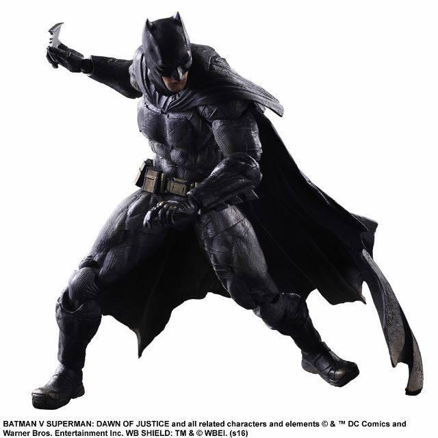 Batman Figure with Batarang