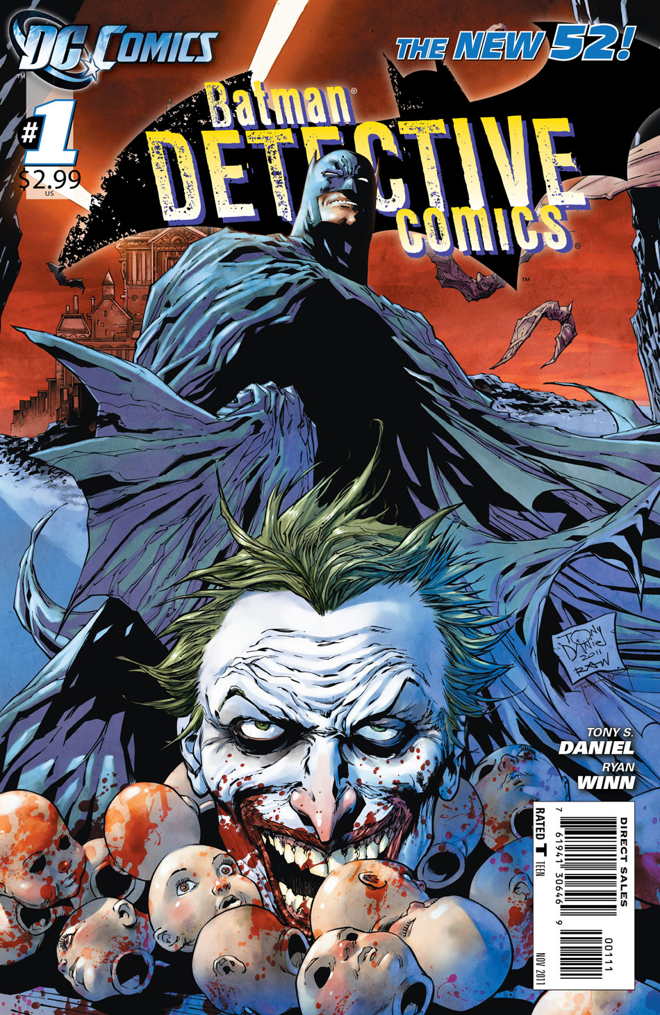 Detective Comics #1 cover by Tony Daniel and Tomeu Morey