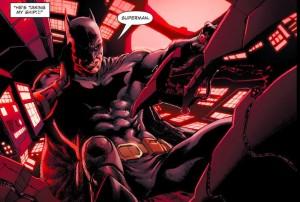 Batman steals Lobo's ship!