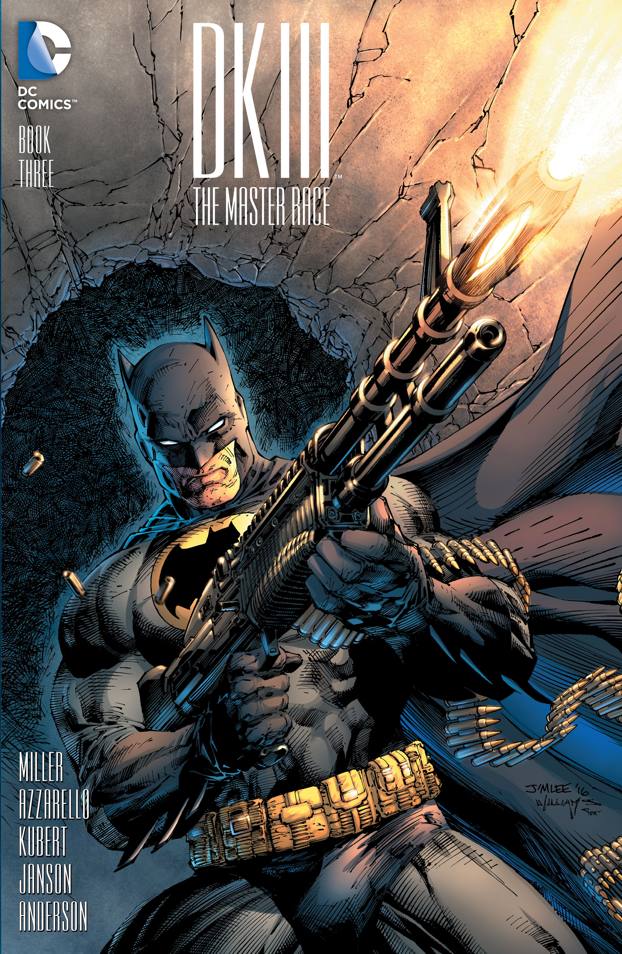 1 in 500 variant cover by Jim Lee