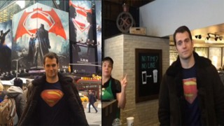 Henry Cavill NYC darkknightnews