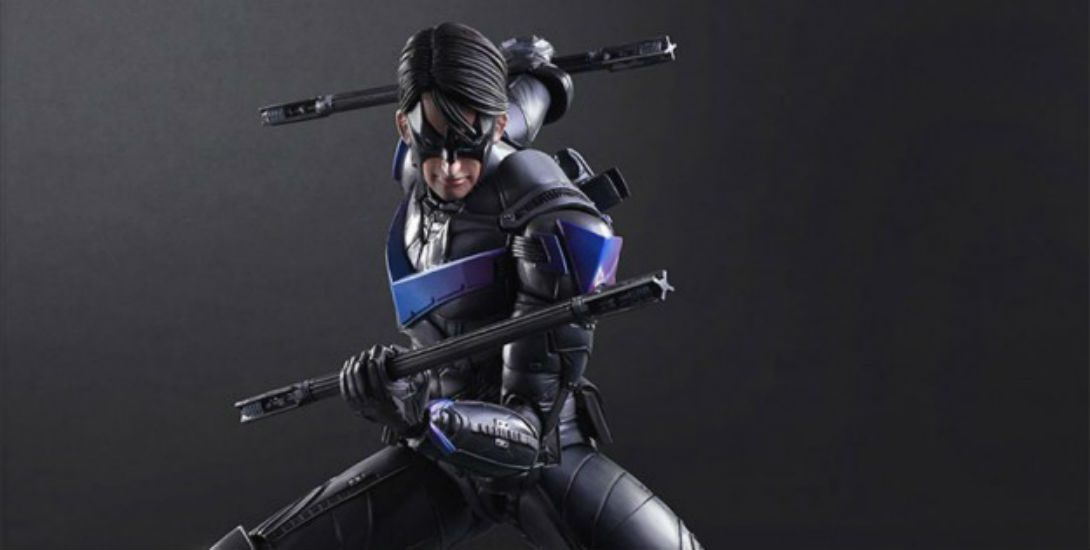 Arkham Knight Nightwing Statue