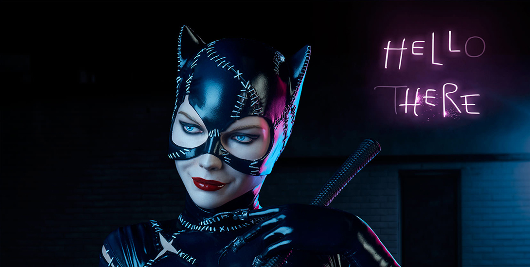 Brand New 'Batman Returns' Premium Catwoman Figures Dark Knight News