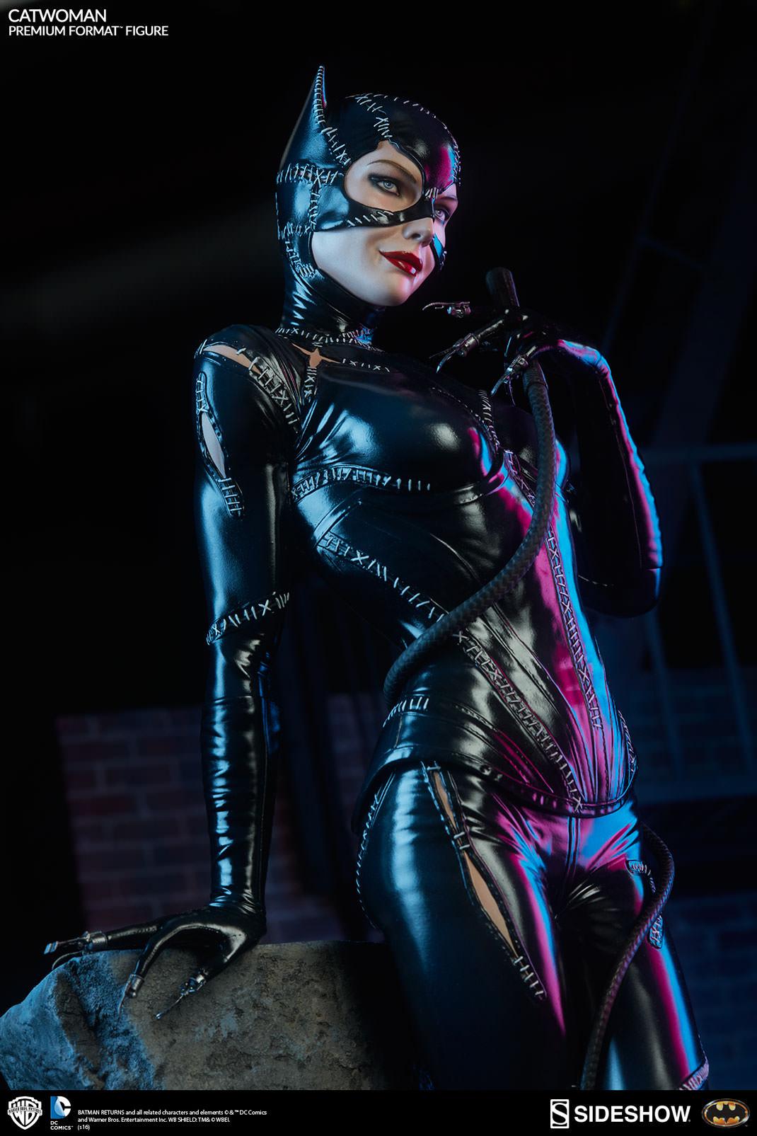 Brand New 'Batman Returns' Premium Catwoman Figures - Dark ...