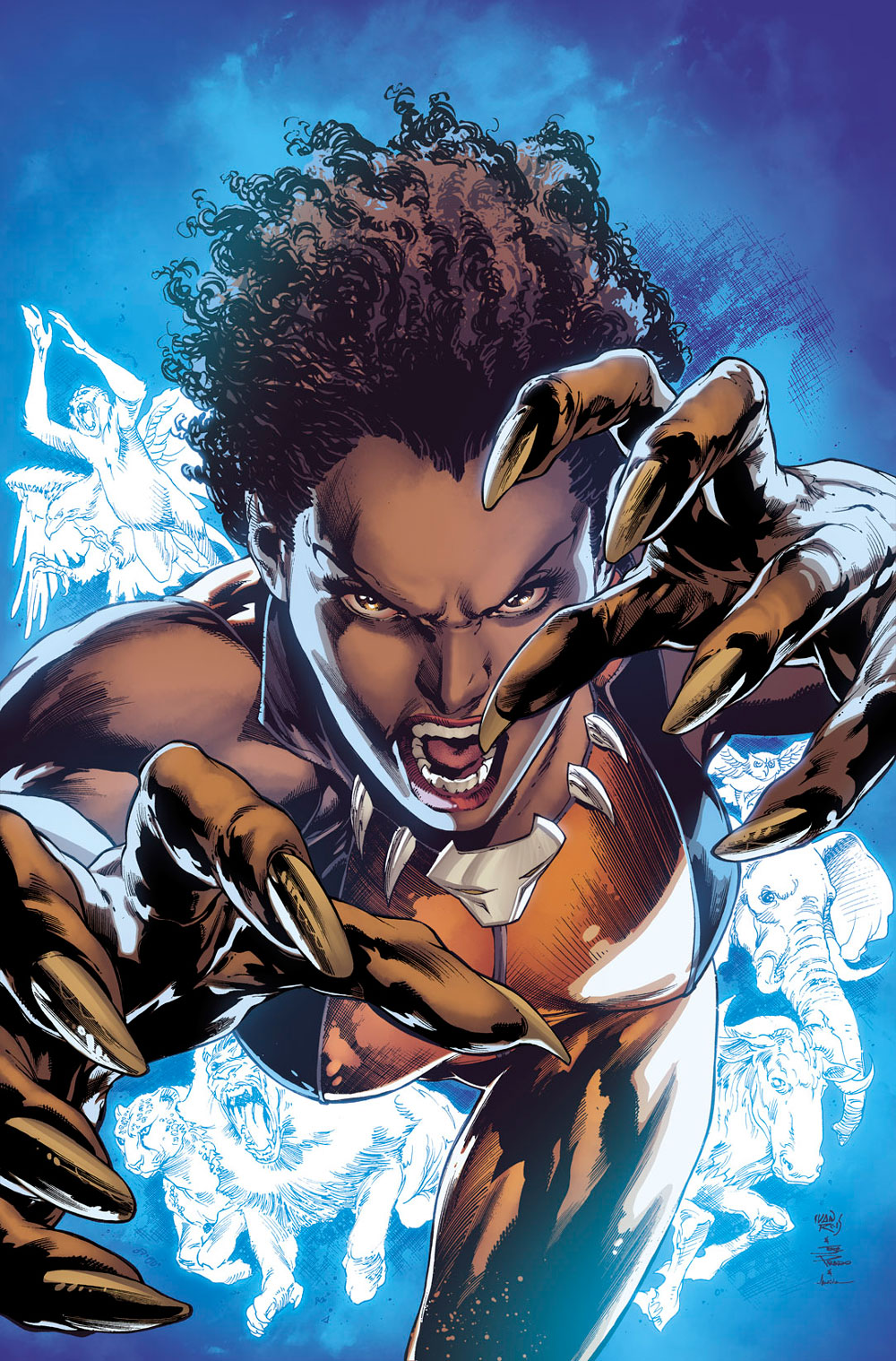 Justice League of America: Vixen #1