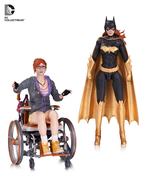 Batman Arkham Knight Batgirl Oracle 2 Pack