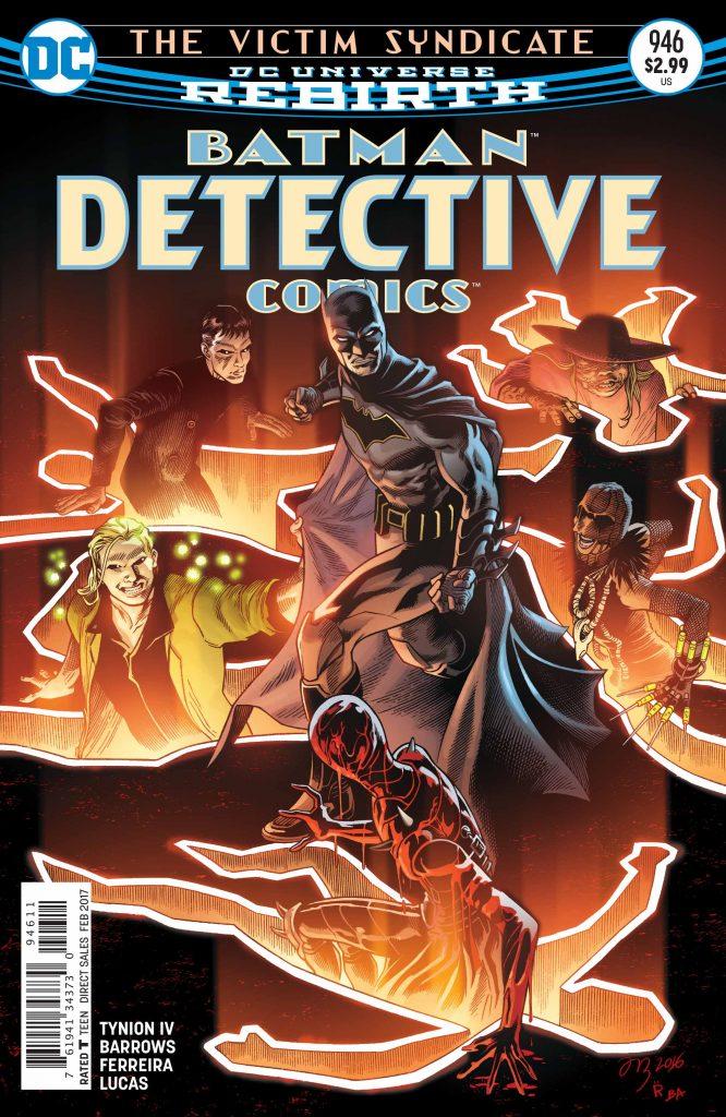 Detective Comics 946 Cover