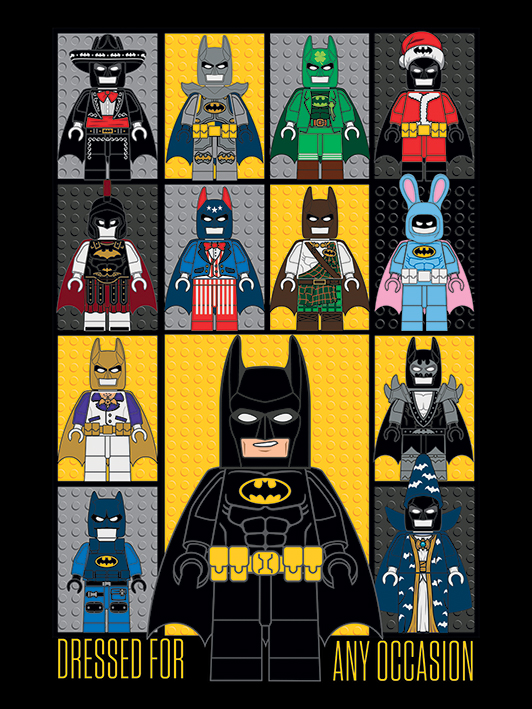 check out new lego batman movie promo posters