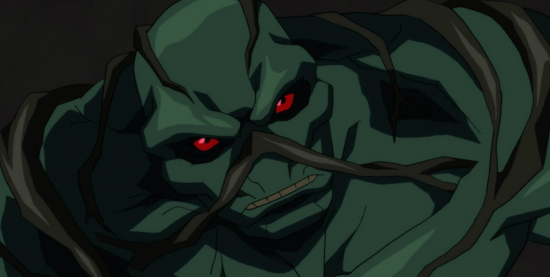 New 'Justice League Dark' Clip Features Swamp Thing Dark Knight News