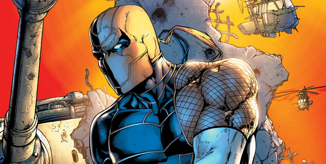 Review: Deathstroke #12 Dark Knight News