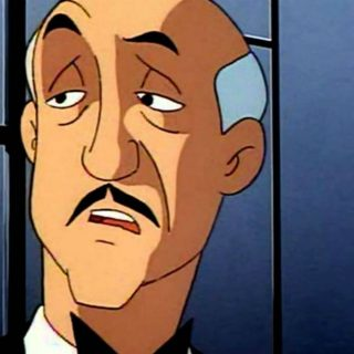 Alfred included in the Batcave playset