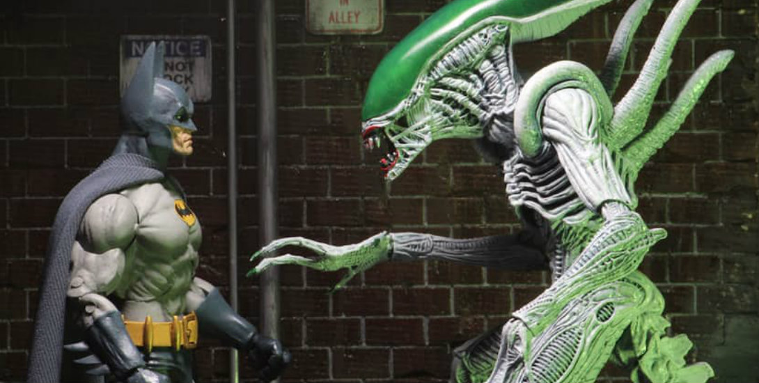 Batman vs. Xenomorph Joker in New NECA Toy Line Dark Knight News