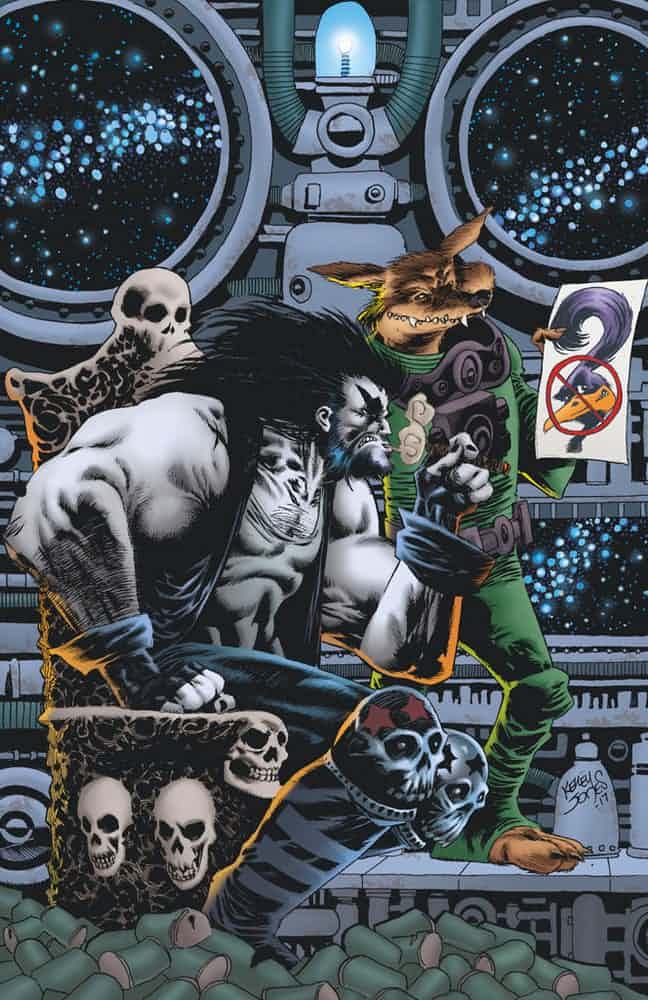 Written by Bill Morrison, Art and cover by Kelley Jones
