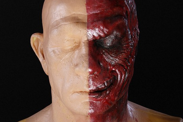 Two-Face Bust