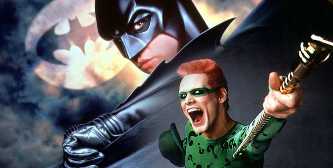 15 Behind the Scenes Photos from 'Batman Forever' Dark Knight News