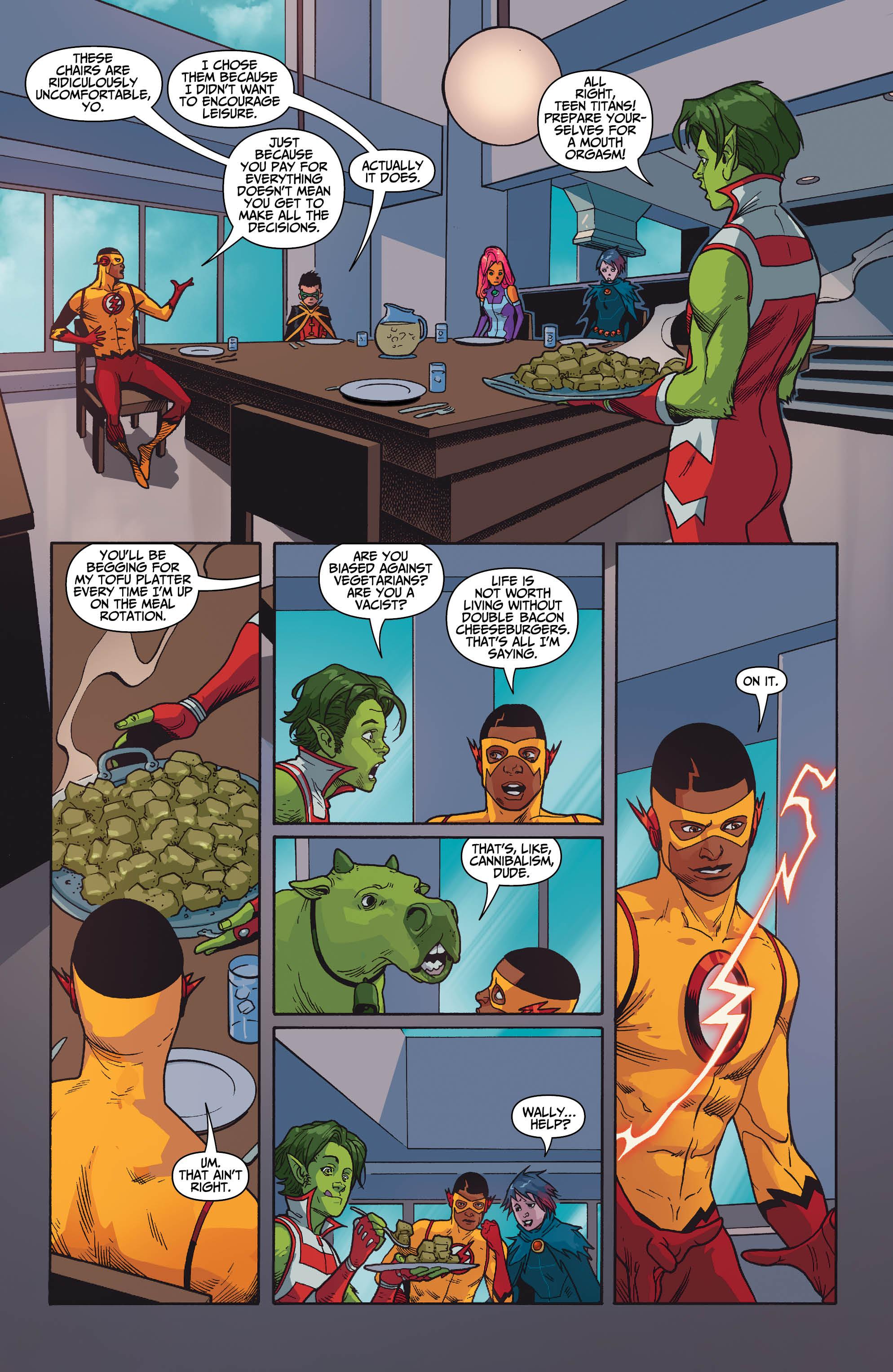 Teen Titans Xxx Comic