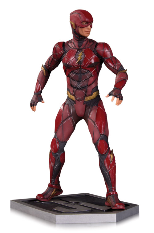 JUSTICE LEAGUE MOVIE THE FLASH STATUE Item Code: APR170461 SRP: $150.00
