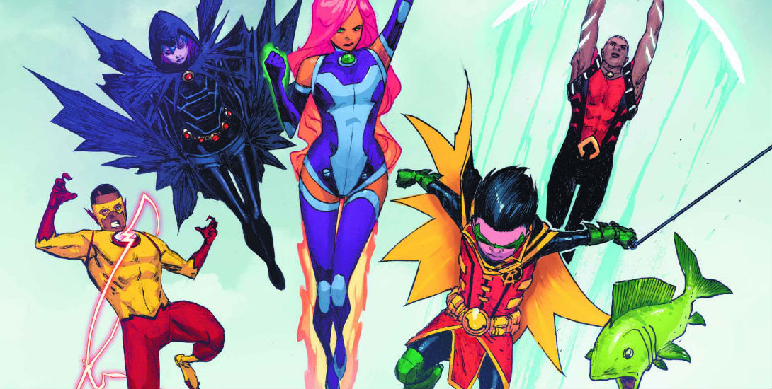 Review: Teen Titans #7 Dark Knight News