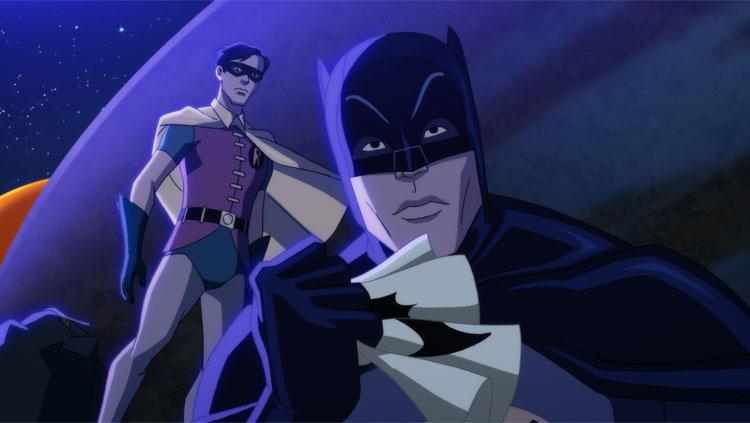 Batman and Robin in 'Batman vs. Two-Face