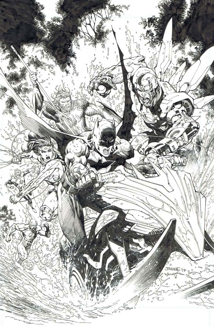 Alternate Cover by Jim Lee & Scott Williams