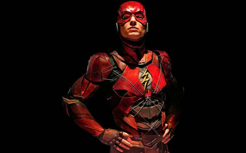 The Flash in 'Justice League'