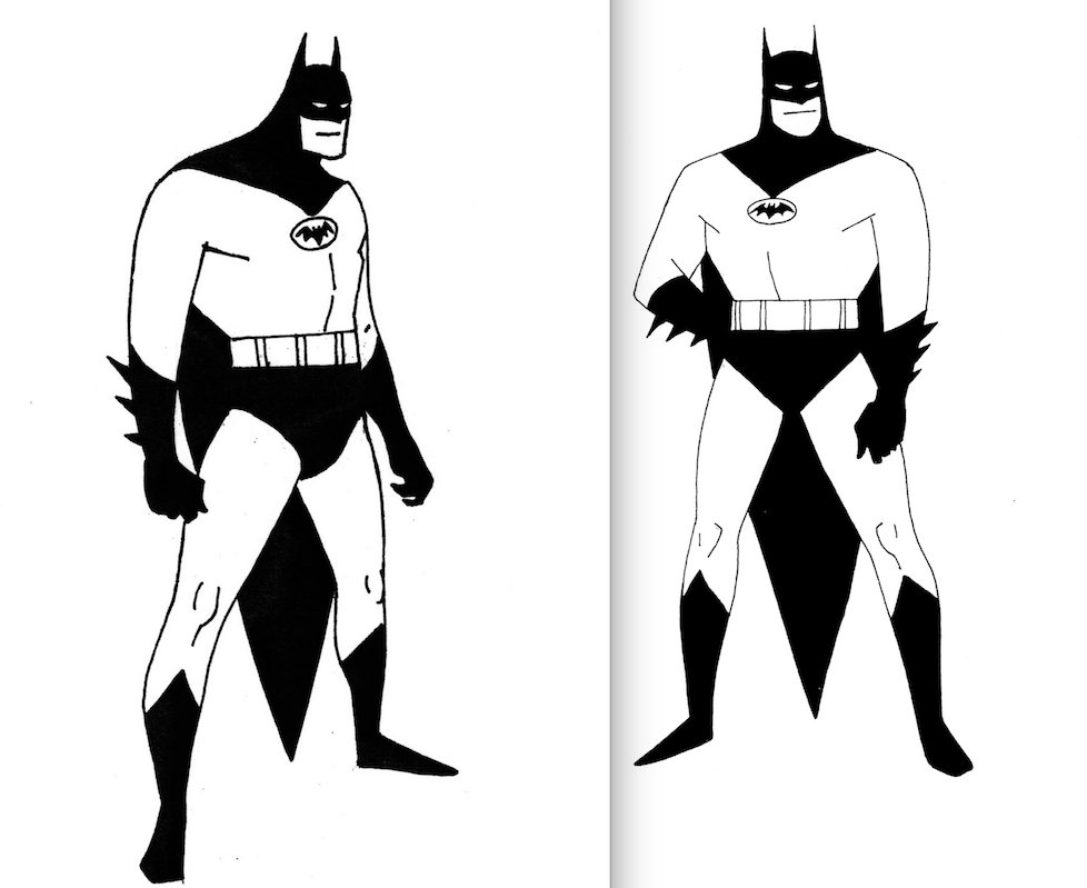 Early Concept for Batman