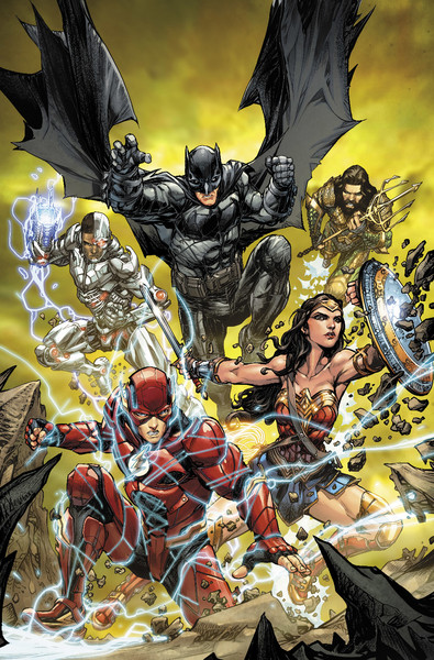 JUSTICE LEAGUE #32 variant cover by Howard Porter