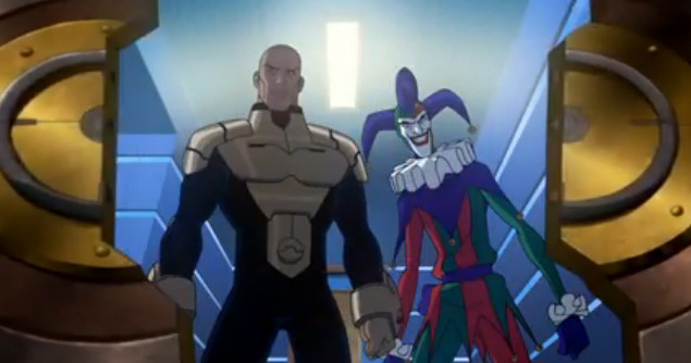Heroic Lex Luthor and Joker