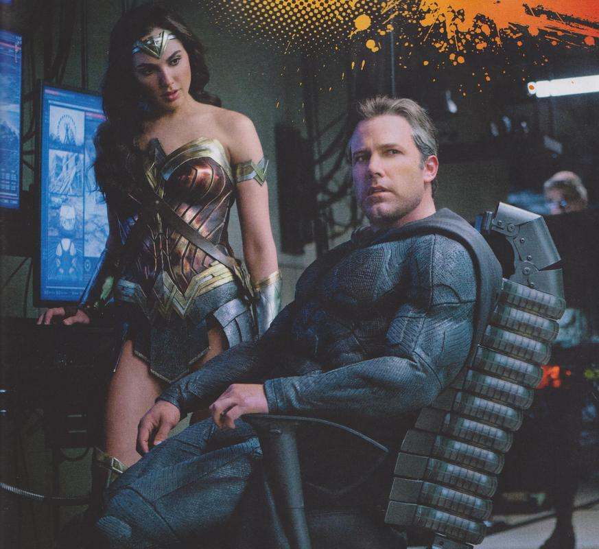 justice league wonder woman batman