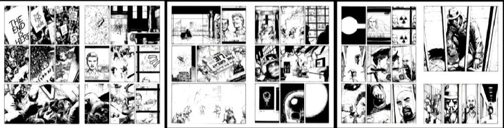 doomsday clock six page spread