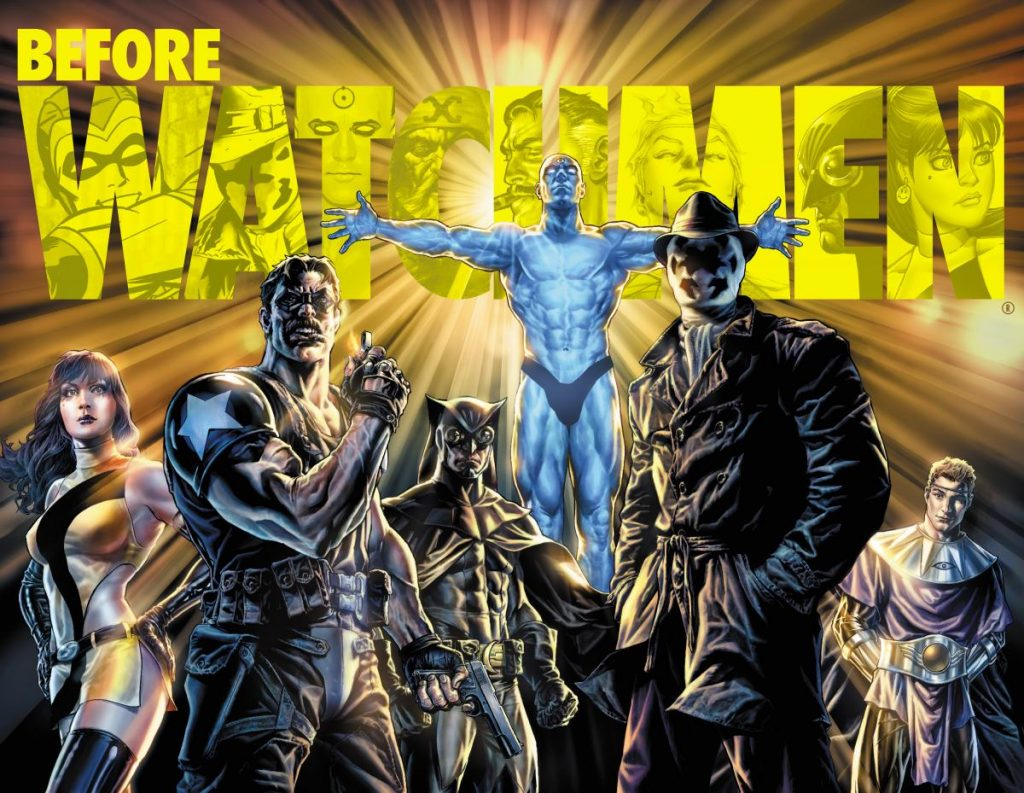 Before Watchmen Promo Art