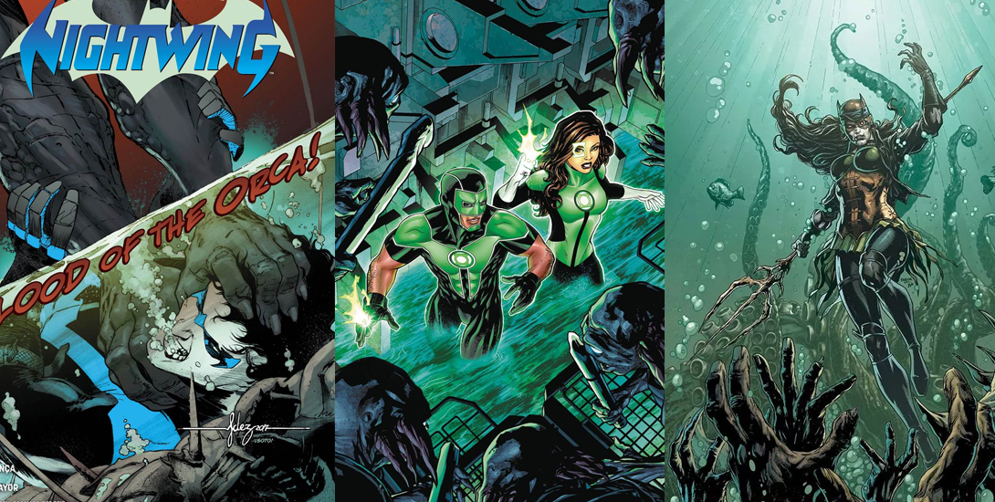 dc all access nightwing green lanterns the drowned