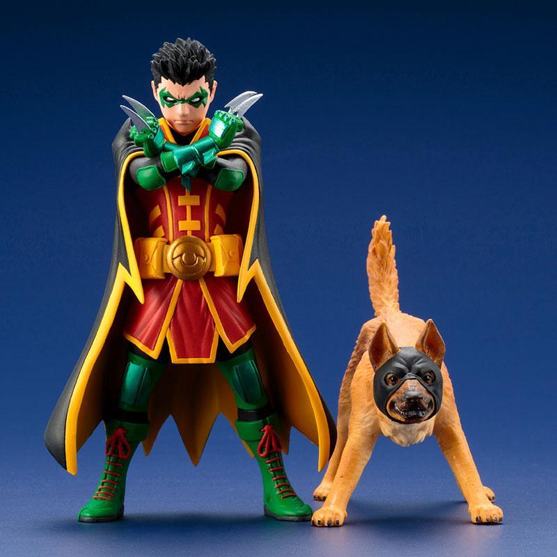 Damian Wayne and Ace