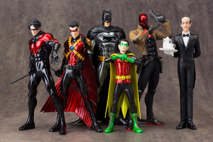 New 52 Batfamily by Kotobukiya