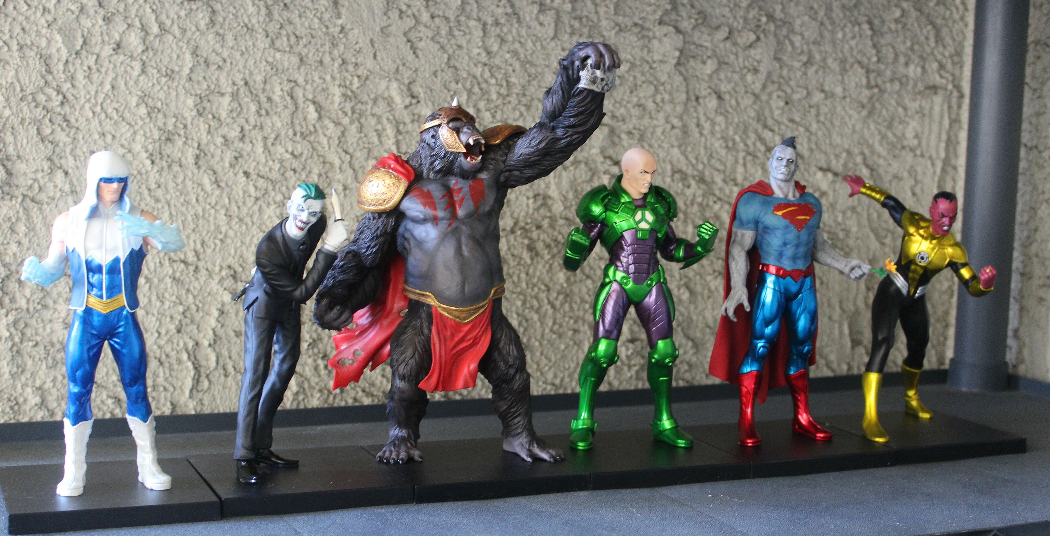 New 52 DC Villains by Kotobukiya