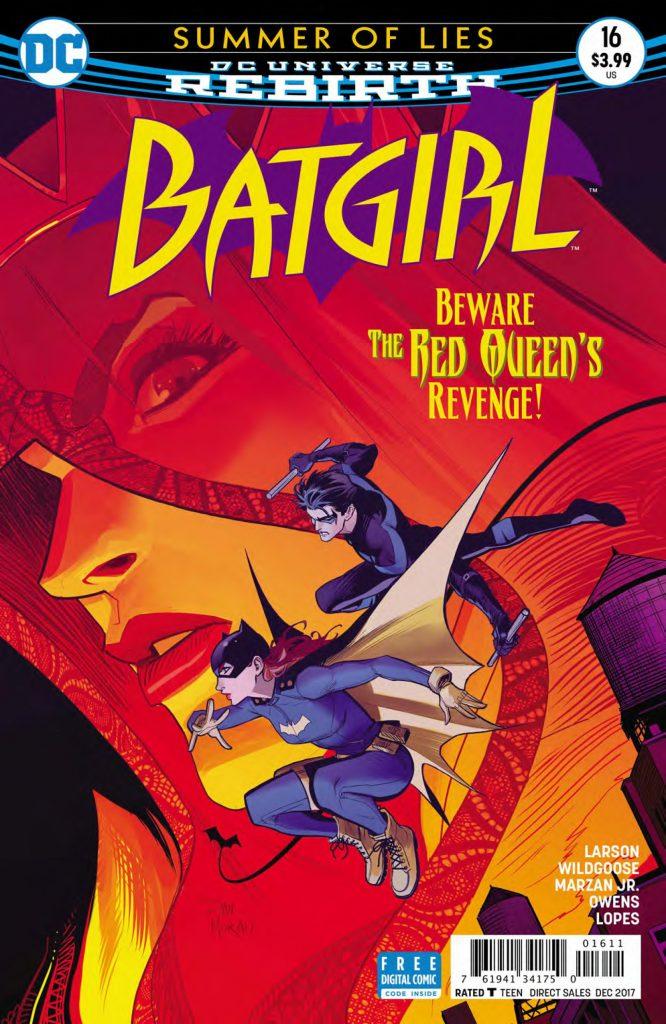 batgirl #16 cover
